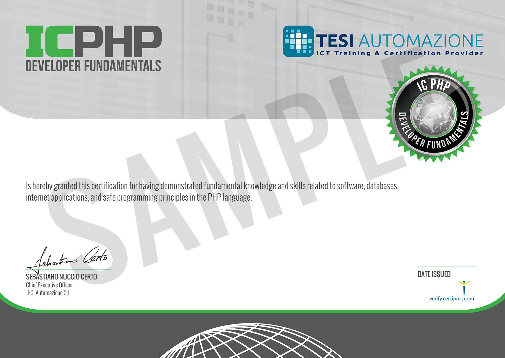 ICPHP_Certificate_A4_SAMPLE